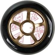 Pro Series Extreme Metal Core 100mm Scooter Wheel - Bronze/Black