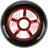 Pro Series Extreme Metal Core 100mm Scooter Wheel - Red/Black