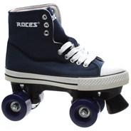 Chuck Blue Kids Quad Roller Skates