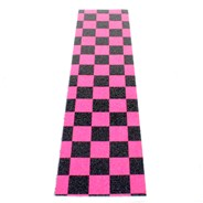 Checkered Black/Pink Scooter Griptape