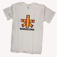 Barcelona City Tributes S/S T-Shirt - White