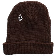 Full Stone Brown Cuff Beanie