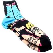 Hipster Sock Puppet - Black