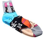 Hipster Sock Puppet - Grey