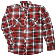 Pigpen White Woven Plaid L/S Shirt