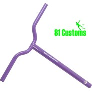 81-Pro Lilac BMX One Piece Scooter Handlebars
