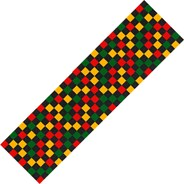 Checkered Rasta Scooter Griptape