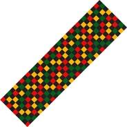 Checkered Rasta Scooter Griptape