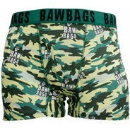 Bawbags Cammo Wood Boxer Shorts