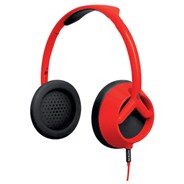 The Trooper Red/Black Headphones