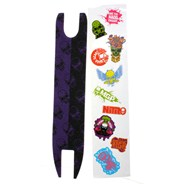 Madd Skulls Scooter Shock Tape - Purple/Black