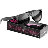 Rollerbones Black Sunglasses