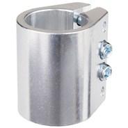 Quad Collar Clamp - Anodised Silver