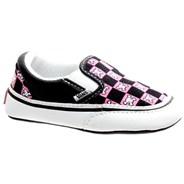 Classic Slip on (Checker Skulls) Black/Aurora Pink Gift Set EX7K2F