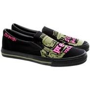 Sex Pistols Vacant Bus Slip on Shoe