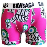 Bawbags Mod Black Cool De Sacs Boxer Shorts