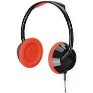 The Trooper Neon Orange Headphones