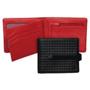 Spire Black Dot Big Bill Strap Wallet