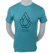 Recycle V.Co-Logical S/S T-Shirt - Ocean