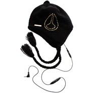 Yo Del Headphone Beanie - Black