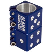 Dice Collar Clamp - Blue