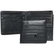 Showtime Bi-fold Zip Wallet - All Black Line