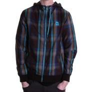 Alken Woven Hooded Jacket - Brown