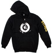 Stamped Black Youth Zip Hoody