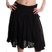Zinnia Skirt - Black