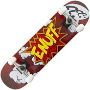 Pow Red 7.75inch Complete Skateboard