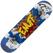Pow Blue 7.75inch Complete Skateboard