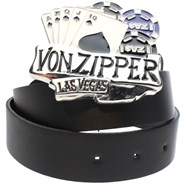 Viva Von Zipper Belt - Black