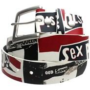 Vans x Sex Pistols White Leather Belt J7FWHT