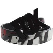 Shattered PU Belt - Black