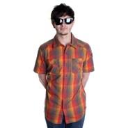 Rupert S/S Woven Shirt - Charcoal