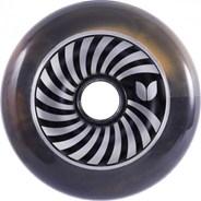 Vertigo Orange/Black Swirl Aluminium Hub Scooter Wheel