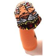 Jimbo Phillips FA Sock Puppet Socks - Orange Tiger