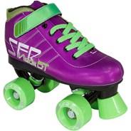 Vision GT Purple Kids Quad Roller Skates