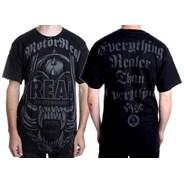 Motoreal S/S T-Shirt - Black