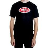 Oval S/S T-Shirt - Black