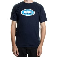 Oval S/S T-Shirt - Navy