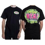 Splattereal S/S T-Shirt - Black