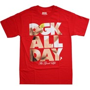 Good Life Red S/S T-Shirt