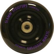 Metal Core Scooter Wheel and Bearings - Black