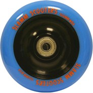 Metal Core Scooter Wheel and Bearings - Blue