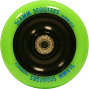 Metal Core Scooter Wheel and Bearings - Green