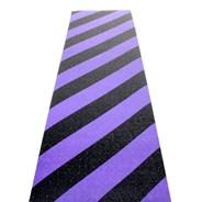 Hazard Black/Purple Skateboard Griptape