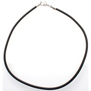 Black PVC Choker - 20in