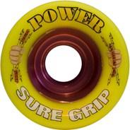 Power Yellow 62mm Roller Derby Skate Wheels