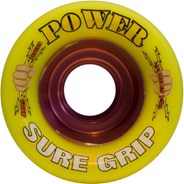 Power Yellow 62mm Roller Derby Skate Wheels